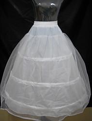 Unterhosen Abendkleid Bodenlänge 2 Polyester Weiß