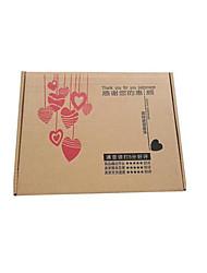 Precisiones caja de embalaje de ropa de 360 * 260 * 60 mm 5 envasados para la venta