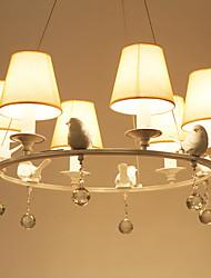 5 Lámparas Araña ,  Campestre Pintura Característica for Mini Estilo Metal Sala de estar / Dormitorio / Comedor