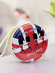 Korean Fashion Purse New Tin Soldiers Fun Zipper Small Coin Bag Random Color
