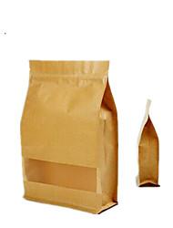 seis 20 centímetros * 30 cm 8 sacos ziplock kraft por embalagem