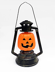 1pc dia das bruxas itens decoração do bar do partido archaize adereços lâmpada de abóbora portátil