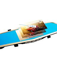 double lentille 1080p HD 4,3 pouces 170 degrés grand angle 12.0mp conduite enregistreur