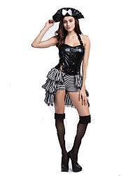 Women's Pirate Costumes Role Playing Dress Halloween Fancy Party Dress