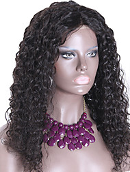 "Malaysian Virgin Hair Full Lace Wigs Human Hair Wigs for Black Women 10""-26"" Deep Wave Curly Style Lace Front Wig"