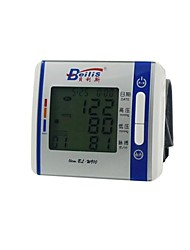 Three Color Backlight Liquid Crystal Display Automatic Closing Function Direct Current Electronic Sphygmomanometer