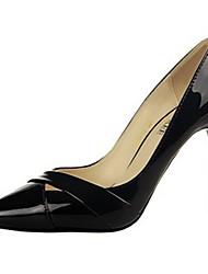 Women's Heels Summer Heels PU Casual Stiletto Heel Others Black / Brown / Pink / Fuchsia / Orange / Burgundy Others
