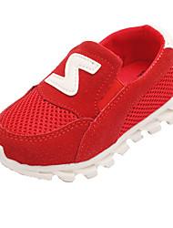 Girl's Sneakers Spring / Fall Comfort Tulle Outdoor / Casual Flat Heel Slip-on Track & Field / Walking