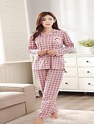 Для женщин Для женщин Пижамы Хлопок