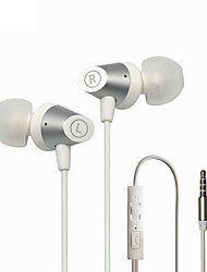 Maoke M6  In-Ear Earphone Metal Heavy Bass Sound Quality Music Earphone Universal Use For Mobile Phones And MP3 MP4