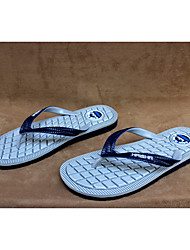 Unisex Slippers & Flip-Flops Summer Comfort PVC Casual Flat Heel Others Blue Green Gray Others