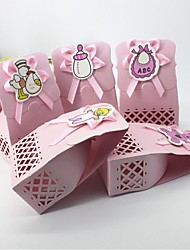 Birthday Party Favors & Gifts-1Piece/Set Favor Boxes Tag Card Paper Garden Theme Other Non-personalised