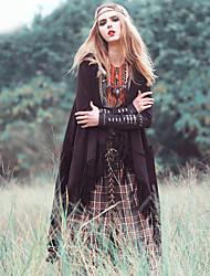 Aporia.As® Femme Col en V Manche Longues Pull & Cardigan Noir-MZ07048