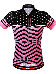 WOSAWE Summer Cycling Jerseys Mtb Road Bike Bicycle Sports Wear Pink Cycling Clothings for Womens Ladies