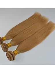 3 Stück Gerade Menschliches Haar Webarten Malaysisches Haar Menschliches Haar Webarten Gerade