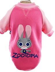 Cute Crazy Animals Zoo Cotton Shirts for Pets Dogs Dog Clothes