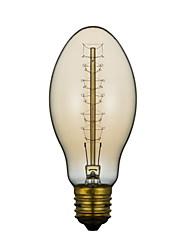 60W E27 Retro Indústria Estilo Bala lâmpada incandescente