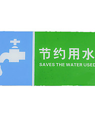 Production Of Acrylic Caution Slippery Prompt Card To Save Water Signs Prohibiting Smoking Signage