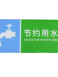 produção de cautela acrílica cartão de linha escorregadia para salvar signos de água que proíbe fumar sinalização