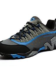 Синий Коричневый Красный-Унисекс-Повседневный-Кожа-На плоской подошве-Удобная обувь-Кеды