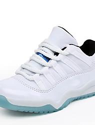 Para Meninos-Tênis-Conforto-Rasteiro-Preto Azul Laranja-Couro Ecológico-Ar-Livre Casual Para Esporte