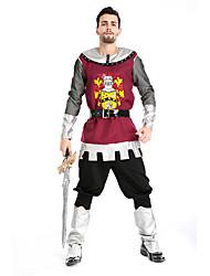 Costumes de Cosplay / Costume de Soirée Soldat/Guerrier Fête / Célébration Déguisement Halloween Rouge ImpriméHaut / Pantalon / Plus