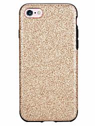 Pour Antichoc Coque Coque Arrière Coque Couleur Pleine Flexible PUT pour Apple iPhone 7 Plus iPhone 7 iPhone 6s Plus/6 Plus iPhone 6s/6