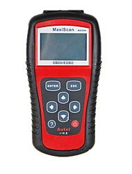 MaxiScan MS509 Autel автомобиля тестер бортовой компьютер obd2 OBD II инструмент развертки