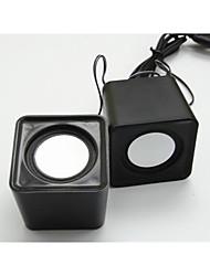 basse lourde mini haut-parleur usb multi couleur petit haut-parleur