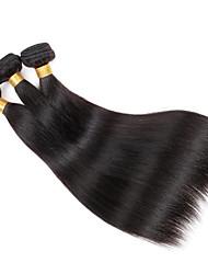 "3 Stück Gerade Menschliches Haar Webarten Brasilianisches Haar 50g/pcs 150g/pack 8-26"" Haarverlängerungen"