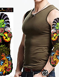 1Pcs Temporary Tattoos Stickers On The Body Art For Men Women Waterproof Fake Tattoo Paste Full Arm Tattoo Sticker