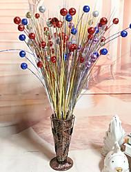 1 Une succursale Mousse de polystyrène Plastique Plantes Fleur de Table Fleurs artificielles 50(19.6'')