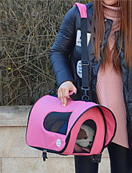 Cat / Dog Carrier & Travel Backpack / Sling Bag Pet Carrier Portable / Breathable Black / Blue / Pink / Rose Nylon