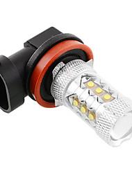 2pcs 2014-2016year 5/6/7 VW Golf H11 тумана комплект лампы супер яркий легкость h11 светодиодные противотуманные лампы светодиодные