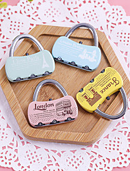 Travel Luggage Lock / Coded Lock Luggage Accessory Metal
