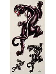 1 Tattoo Aufkleber Tier Serie cat Flash-Tattoo Temporary Tattoos