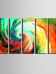 Fantasie Leinwand drucken Fünf Panele Fertig zum Aufhängen , Vertikal