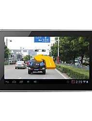 E Airlines Q802 Android 7 Inch High-Definition Intelligent Vehicle Navigator Fixed Speed Driving Recorder Machine