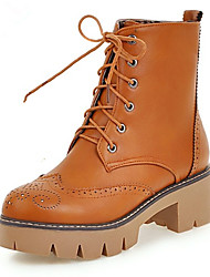 Women's Boots Fall / Winter Riding Boots / Fashion Boots / Basic Pump / Comfort / Combat Boots /  FlatsPatent Leather