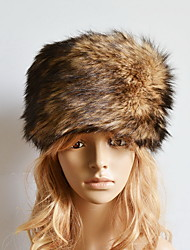 Women Faux Fur Bowler/Cloche HatCasual Fall / Winter Fur Cap