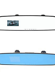 Blue And White Mirror Car 1080P HD Rear View Mirror Driving Recorder