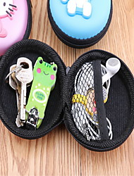 Cartoon Cute Silicone Hand With Water Proof South Korea Headset Keys Zero Purse Female Coin Bag Bag Random Color
