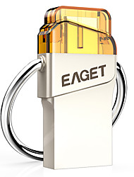 Eaget CU66-64G 64GB USB 3.0 Resistente à Água / Resistente ao Choque / Tamanho Compacto