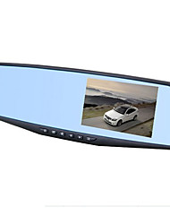 Night Vision Mirror Reversing Video 1080P HD 4.3 Inch 140 Degree Wide Angle 12.0MP Driving Recorder