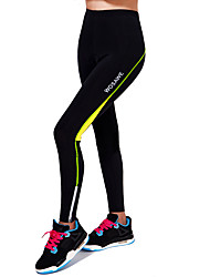 Wosawe® Cycling Pants Unisex Breathable / Compression / 3D Pad / Limits Bacteria / Reflective Trim/Fluorescence Bike