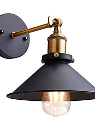22cm Loft vintage Industrial Edison Fashion Simplicity Wall Sconce Metal Base Cap Max 60W