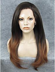 Spitze-Perücke Perücken für Frauen Braun Kostüm Perücken Cosplay Perücken