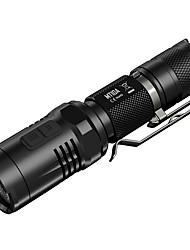 Nitecore® Lanternas LED LED 920 Lumens 5 Modo Cree XM-L2 U2 14500 / AAProva-de-Água / Resistente ao Impacto / Tamanho Compacto / Clipe /