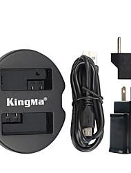 kingma Dual-USB-Ladegerät für Canon Akku und Canon EOS 550D EOS 600D eos 650d eos 700d mit USB-Adapter Steckernetz