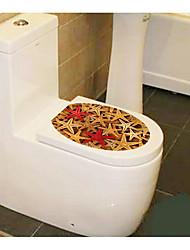 personnalité créative 1pc ameublement maison les toilettes autocollants